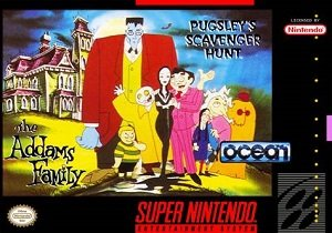 Addams Family Pugsley's Scavenger Hunt (SNES)