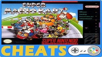 Super Mario Kart SNES Cheats