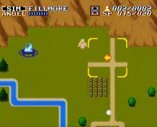 ActRaiser SNES Gameplay