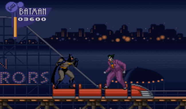 Adventures of Batman & Robin Gameplay