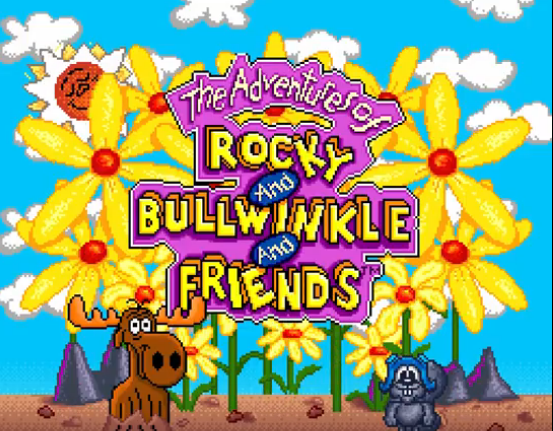 Adventures of Rocky and Bullwinkle and Friends Main Screen