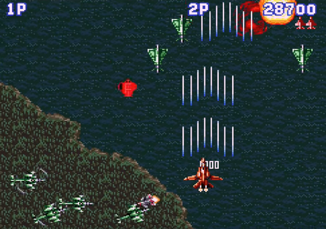 Aero Fighters Gameplay