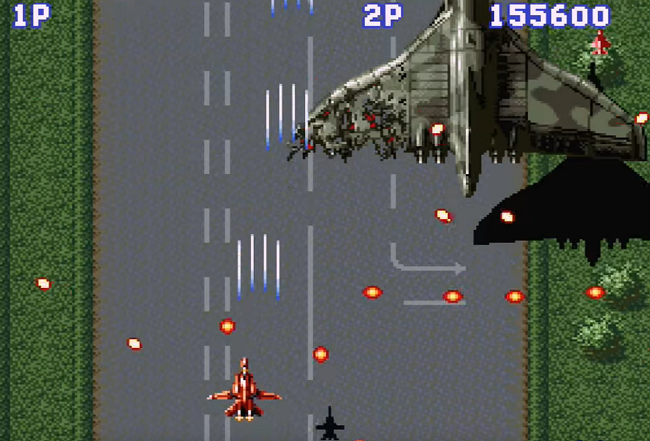 Aero Fighters Screenshot