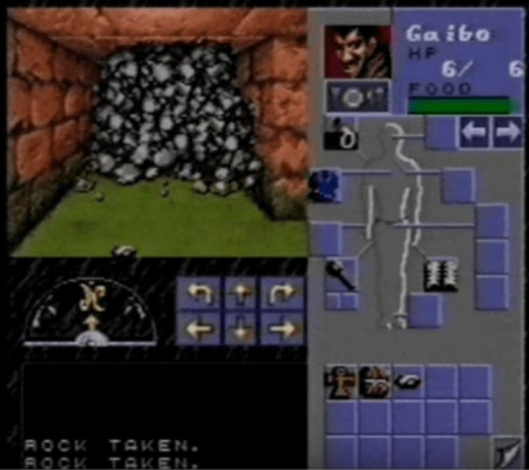 Eye of the Beholder snes screenshot