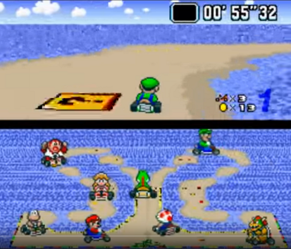 Super Mario Kart Alternate Tracks Screenshot