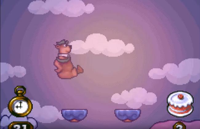 The Adventures of Yogi Bear Gameplay