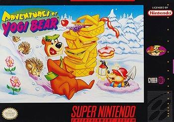 The Adventures of Yogi Bear SNES
