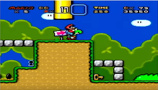 snes9x super mario world