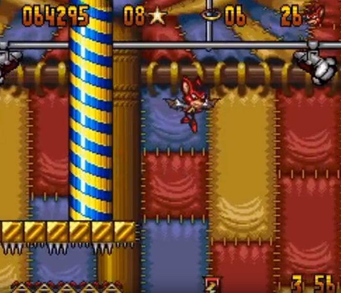 Aero the Acro-Bat Gameplay