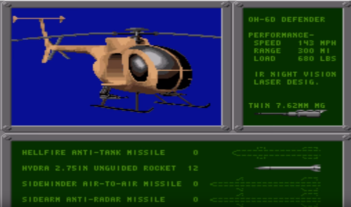 Air Cavalry snes