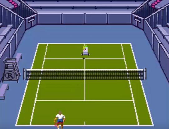 Andre Agassi Tennis screenshot