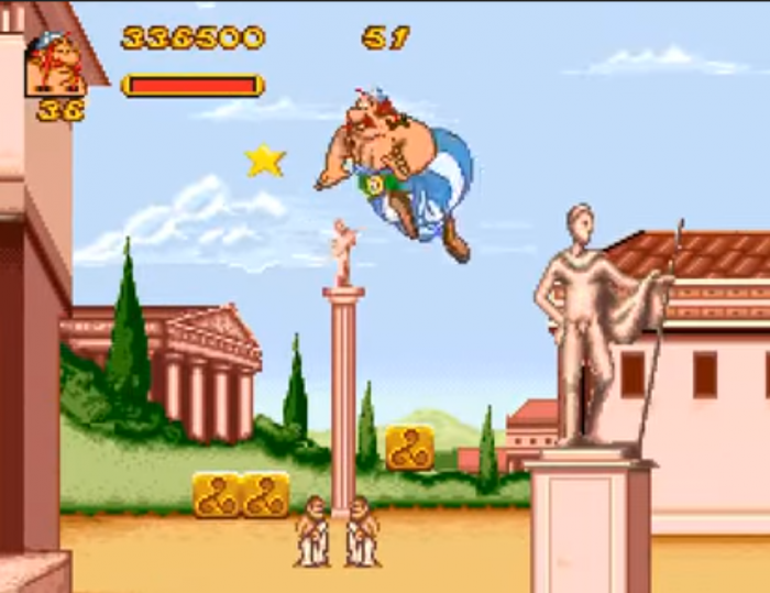 Asterix & Obelix screenshot