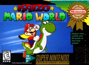 Kaizo Mario World SNES ROM Hack