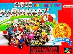 Super Mario Kart Pro Edition SNES ROM Hack
