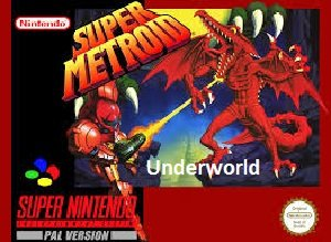 Super Metroid Underworld snes rom hack