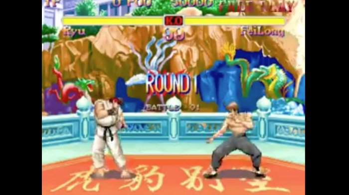 Super Street Fighter II - Easy Move 1