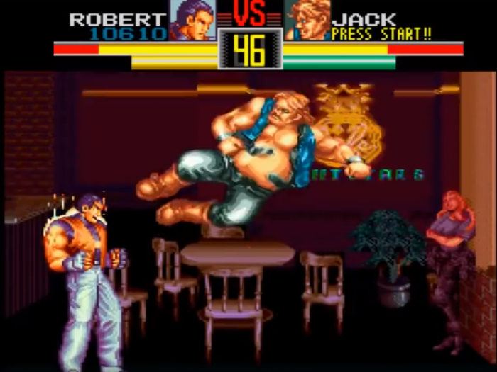 art of fighting snes