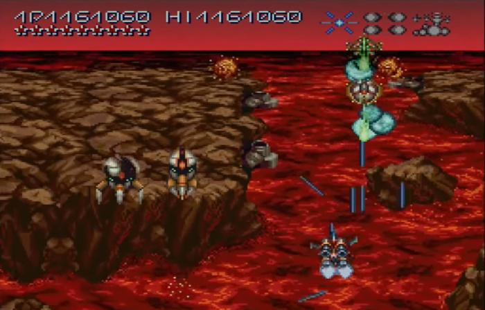axelay screenshot