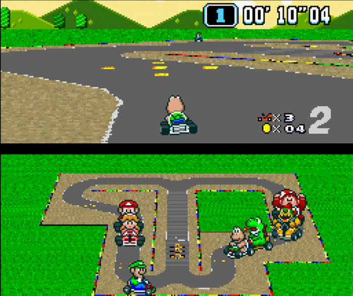 super mario kart universe screenshot