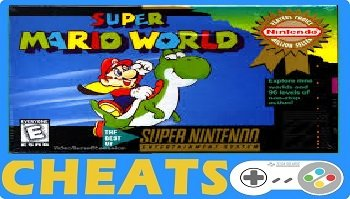 super mario world snes cheats