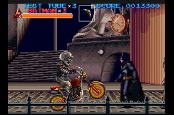 Batman Returns SNES Gameplay Screen 3