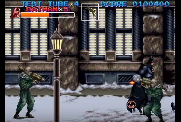 Batman Returns SNES Gameplay Screen 2