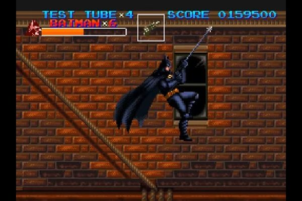 Batman Returns SNES Gameplay