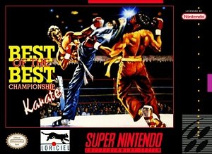 Best of the Best - Championship Karate (SNES) Super Nintendo