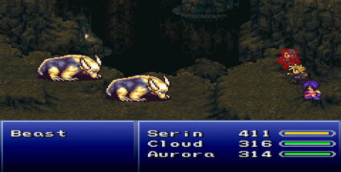 Final Fantasy VI - Return of the Dark Sorcerer SNES
