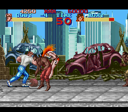 Final Fight Arcade Remix SNES ROM Hack