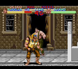Final Fight Arcade Remix SNES