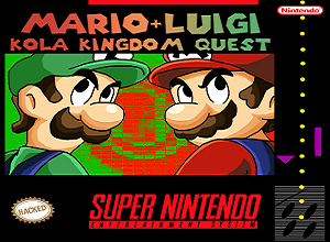 Mario & Luigi Kola Kingdom Quest SNES ROM Hack