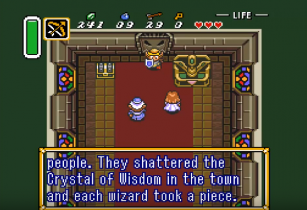 The Legend of Zelda Goddess of Wisdom screenshot