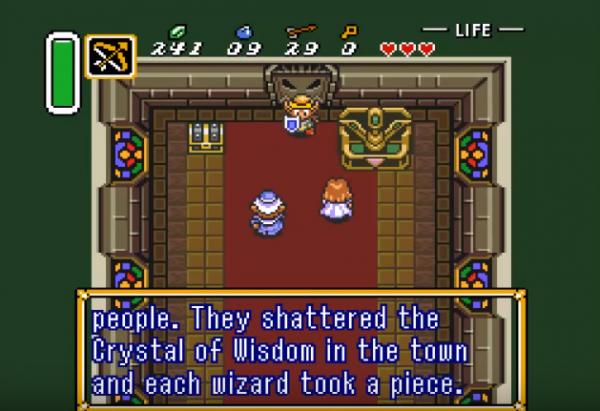 The Legend of Zelda Goddess of Wisdom screenshot