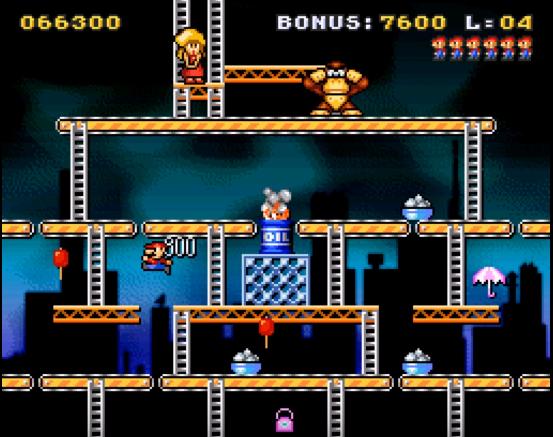 classic kong gameplay