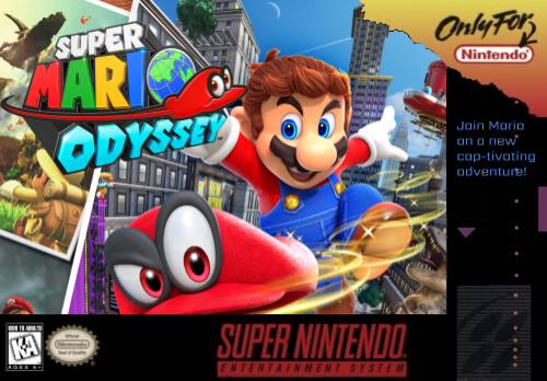 Super Mario World Odyssey Snes Download
