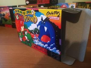 Super Mario World Replacement Box