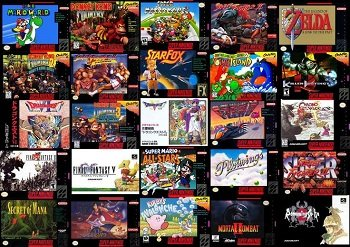 All Super Nintendo Games By Letter B