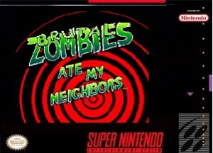 Brutal Zombies Ate My Neighbors SNES ROM Hack