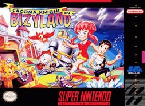 Cacoma Knight in Bizyland (SNES) Super Nintendo Game