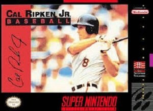 Cal Ripken Jr. Baseball (SNES) Super Nintendo Game