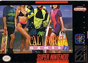 California Games II SNES Game