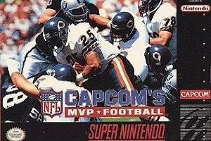 Capcom's MVP Football SNES Game