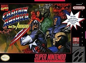 Captain America and The Avengers SNES Game