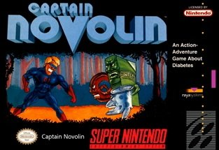 Captain Novolin SNES Game