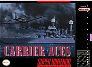Carrier Aces SNES Game