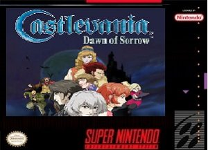 Castlevania Dawn of Sorrow SNES ROM Hack