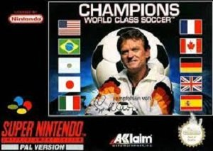 Champions World Class Soccer SNES Game