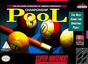 Championship Pool SNES Game