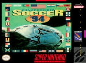 Championship Soccer '94 SNES Game